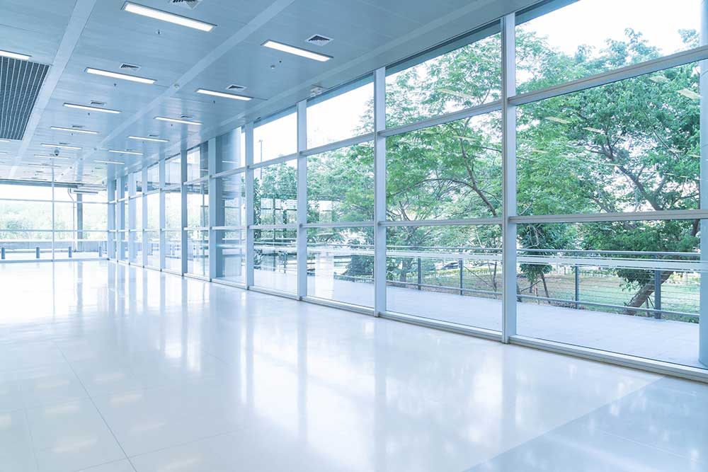 Billede af professionel vinduespolering