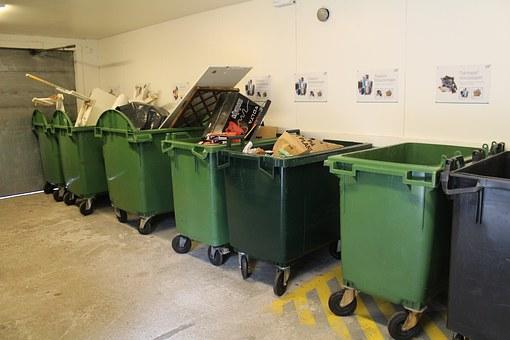 Billede af affaldssortering
