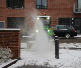 Grøn pleje - Vintertjeneste med snerydning