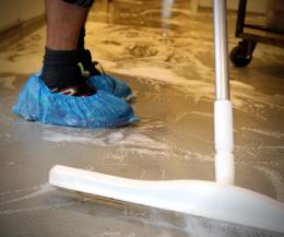 Food-rengøring - vask af gulve
