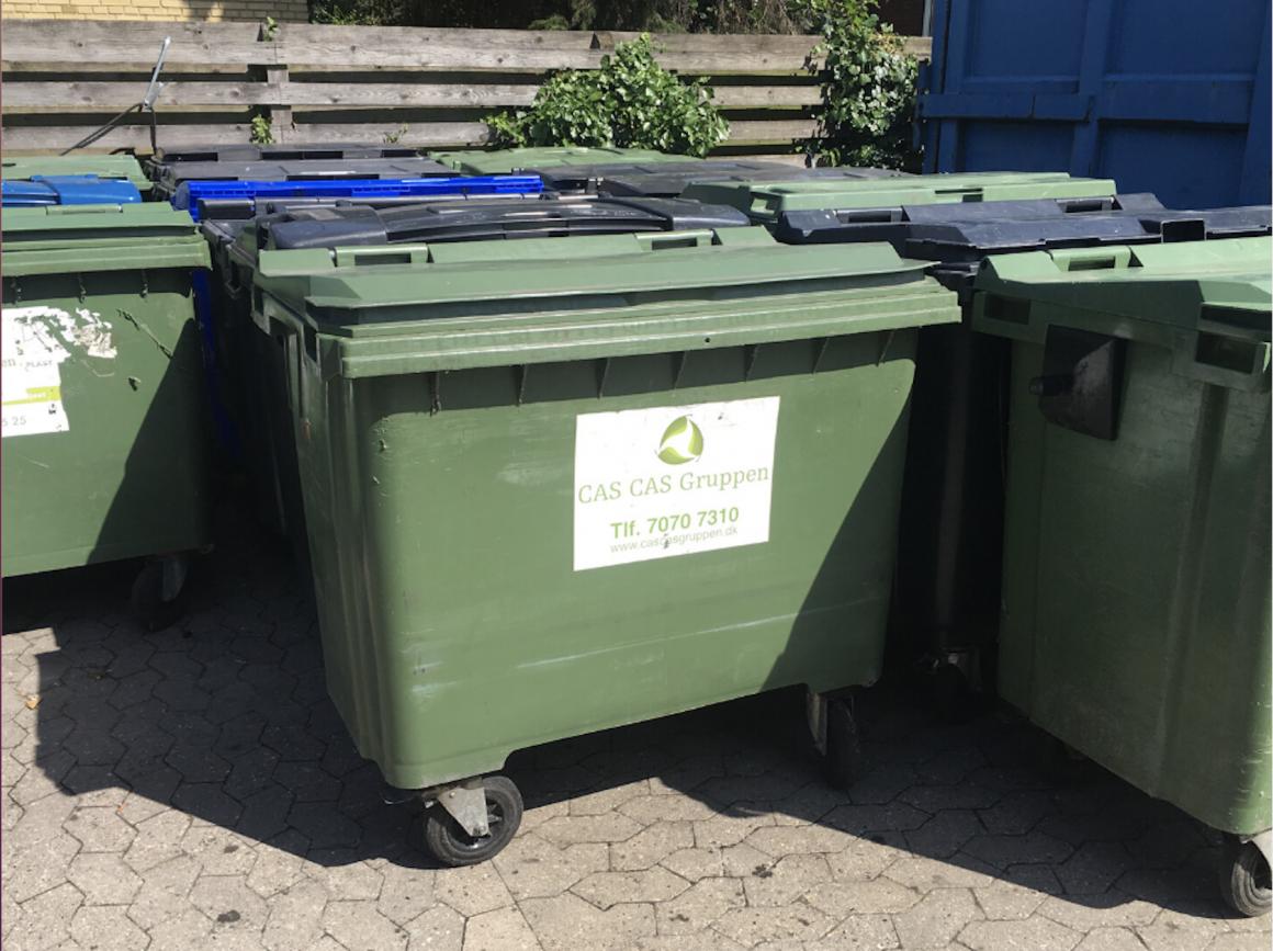 Affaldsbeholder til brændbart affald