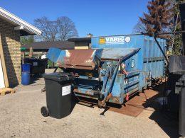 Affaldscontainer og -beholder til brændbart affald
